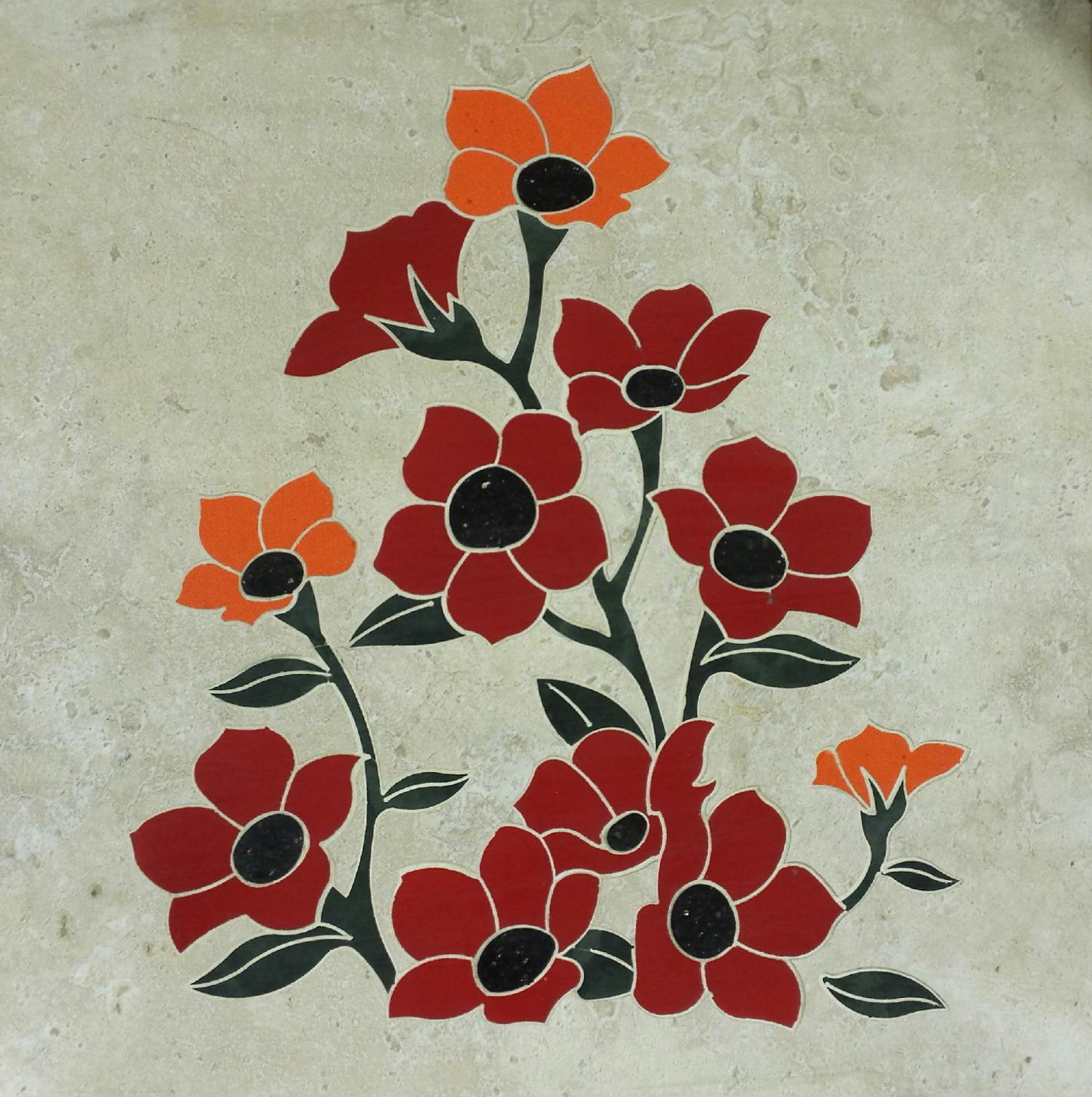 Fleur De Lis Kitchen Tile