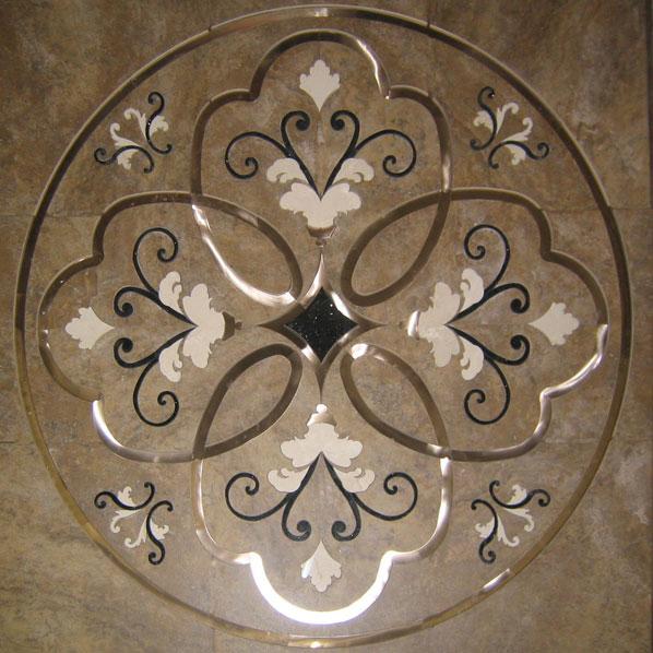 Floral Tile Inlays Dream Weaver Designs Llc